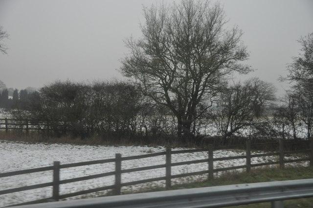 Bromsgrove : The M42 Motorway Roadside