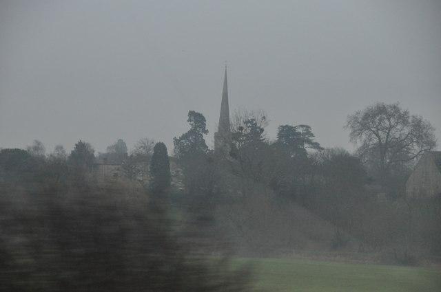 Wychavon : Trees & Parish Church