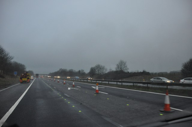 Gloucester : The M5 Motorway Southbound