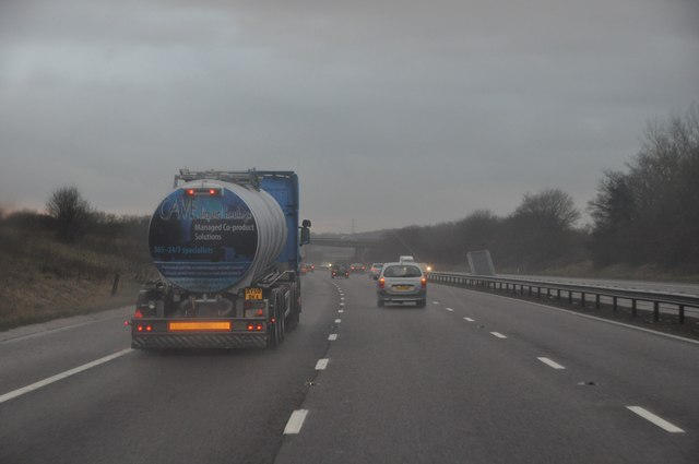 South Gloucestershire : M5 Motorway Southbound
