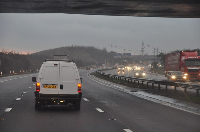 South Gloucestershire : The M5 Motorway Southbound