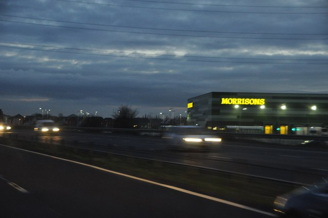 Sedgemoor : M5 Motorway & Morrisons Storage