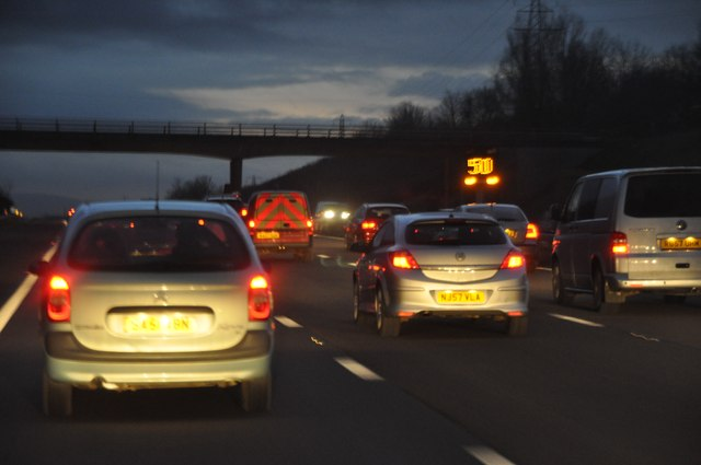 Sedgemoor : M5 Motorway Southbound