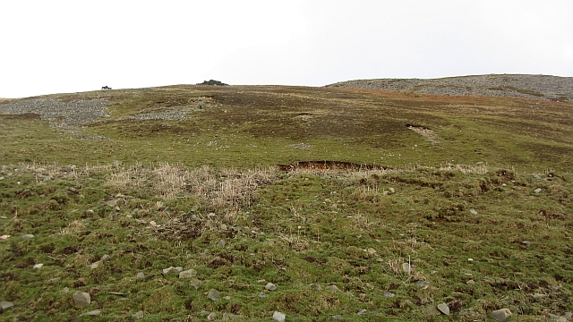 Lower slopes of Glenrath Hill