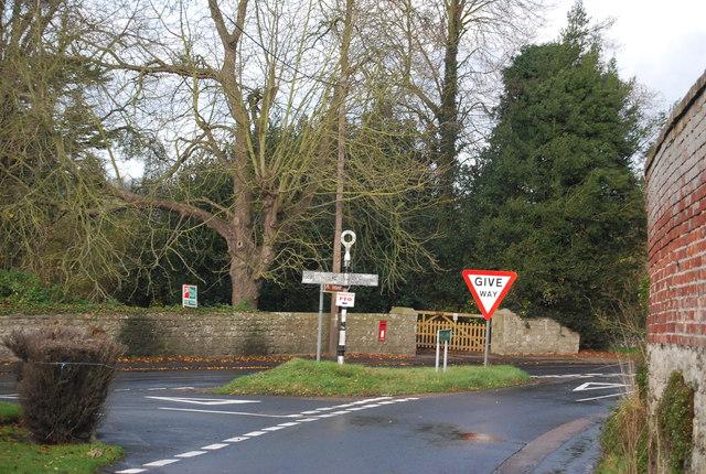 Centre of West Farleigh