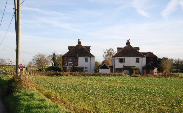 Two cottages, Maypole Lane