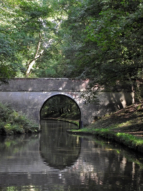 Ryehill Cutting Bridge near Wheaton Aston, Staffordshire