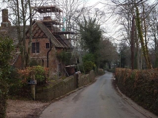 Oak Cottage near Luscombe