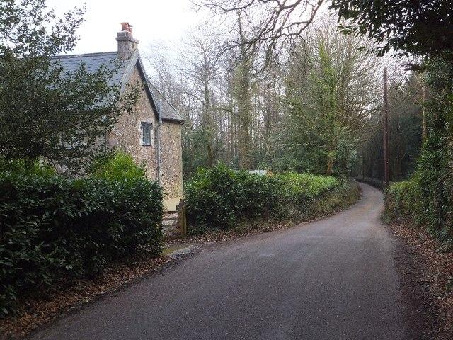 Haldon Lodge on Luscombe Hill