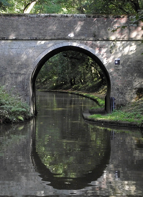 Ryehill Cutting Bridge near Wheaton Aston, Staffordshire