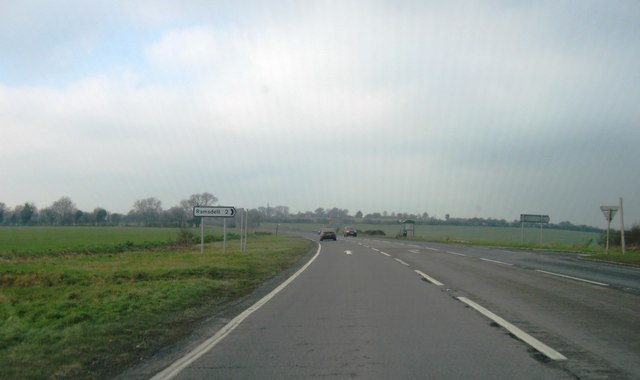 A339, turning for Ramsdell