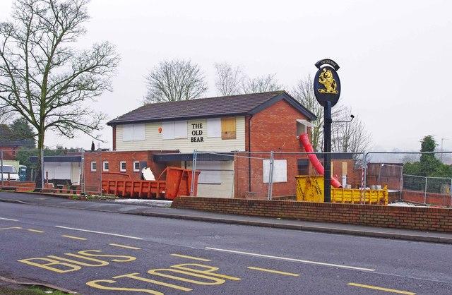 Conversion work on the former Old Bear, 70 Stourbridge Road, Kidderminster