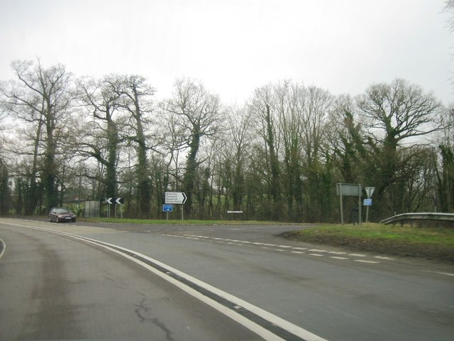 A339, turning for Wolverton