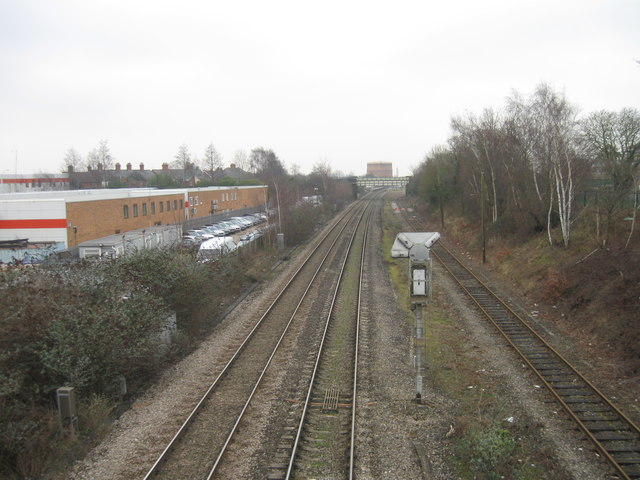 Railway lines, Newbury