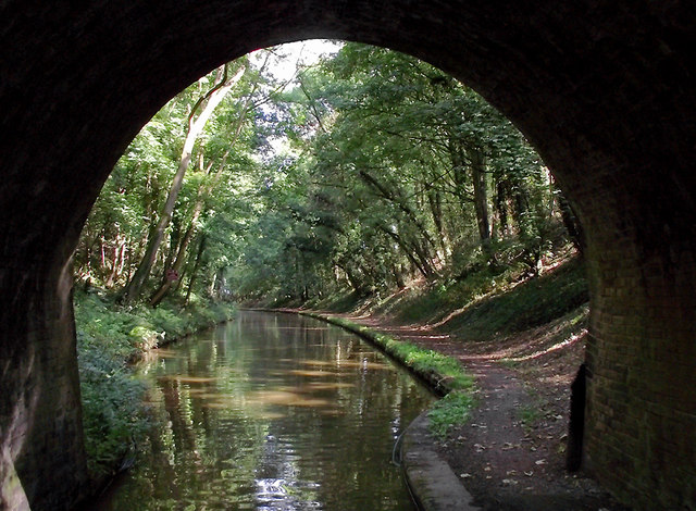 Canal at Little Onn, Staffordshire