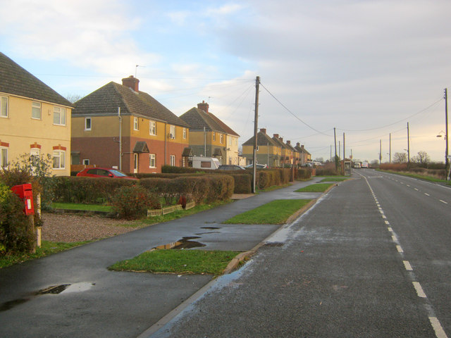 Row of houses on Rempstone Road