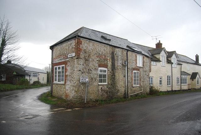 Cottage, corner of Cox's Lane and Litton Lane