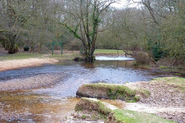 Avon Water at Wootton