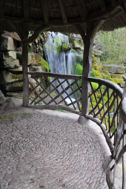 Waterfall, Hampton Court Gardens