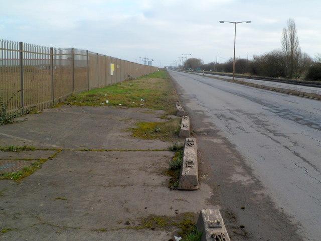 A view east along Queen's Way, Newport