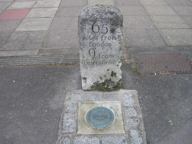 Milestone, London Road, Cowplain