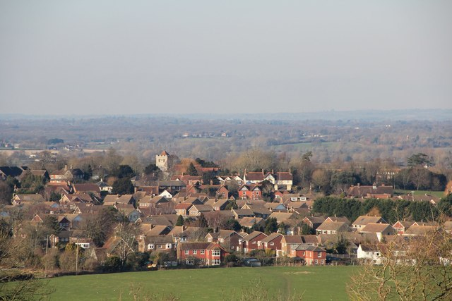 Ringmer from The Downs