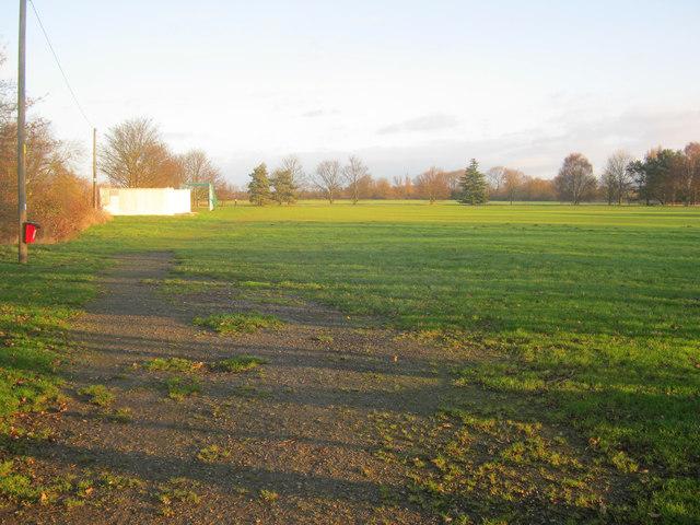 Winthorpe cricket field