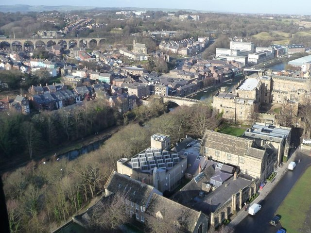 University rooftops, Durham