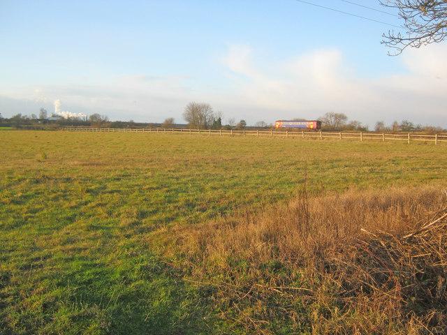 Meadow near Holme Lane