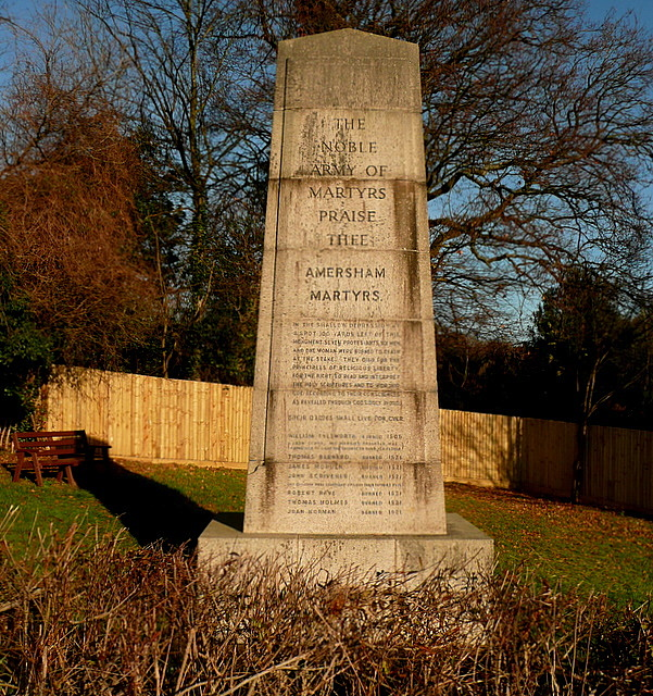 The Amersham Martyrs' Memorial