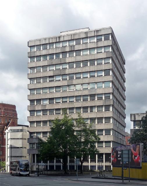 Manchester Metropolitan University buildings, Aytoun Street, Manchester