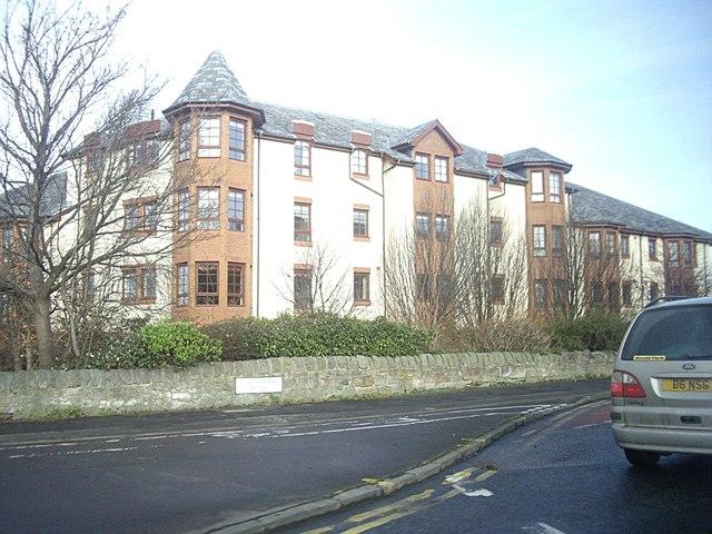 Flats on Queensferry Road (A90), Edinburgh