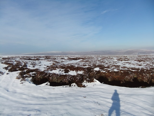 Snow-filled gullies on Green Fell