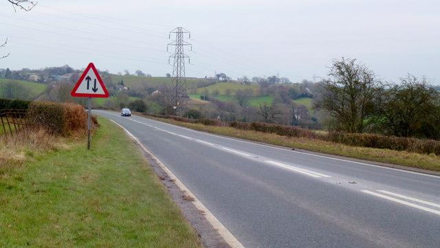 A48 between Blakeney and Lydney