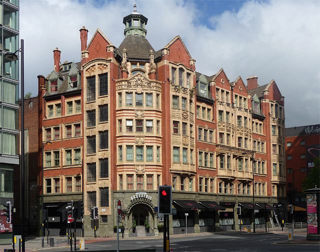 Former Joshua Hoyle Warehouse, Piccadilly, Manchester