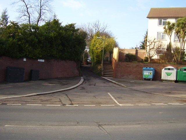 Mile Lane junction with Beacon Lane, Exeter
