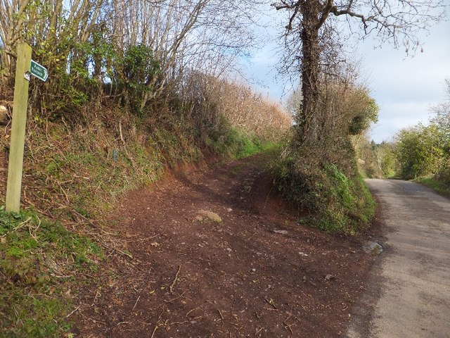 Footpath to Langdon