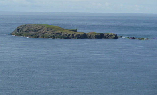 Horse Holm from Sumburgh Head