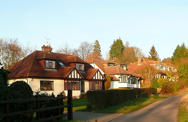 Houses on Bottom House Farm Lane