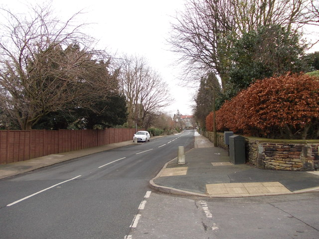 Ashfield Road - viewed from Moorhead Crescent