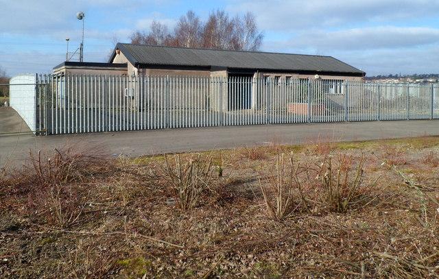 Former steelworks building, Glan Llyn, Newport