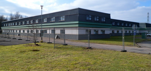 NE corner of former steelworks offices, Glan Llyn, Newport
