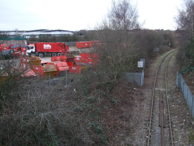 Disused Highworth branch line, Gipsy Lane