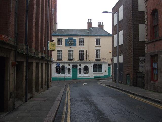 Old Angel Inn  Nottingham