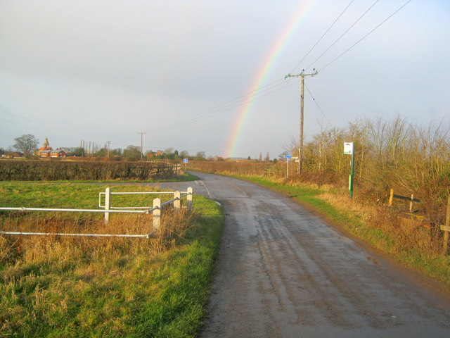 Rainbow over Holme