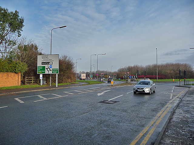 Lyde Green Roundabout