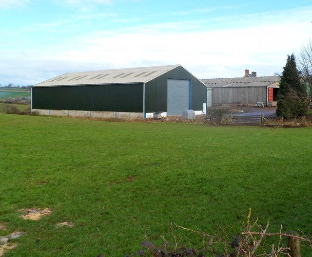 Groes-fach Farm buildings east of New Inn