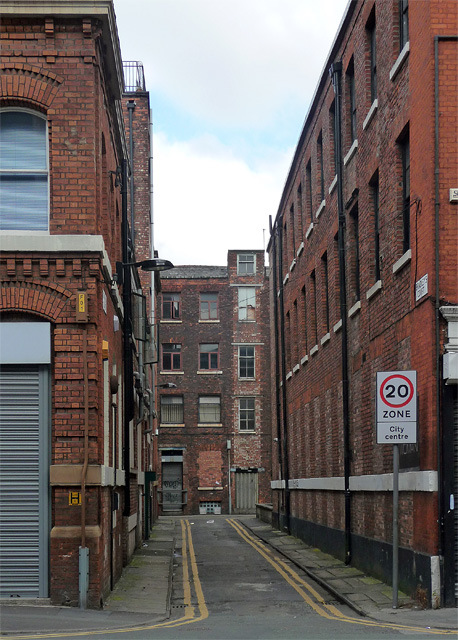 Bradley's Court, Manchester