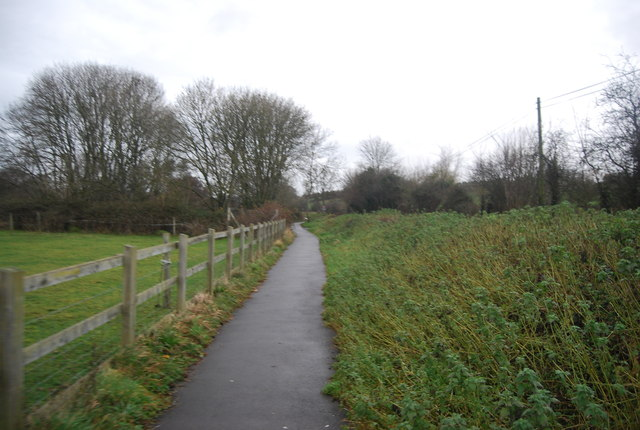 National Cycleway 2 by Pymore Rd