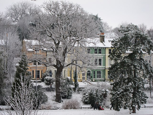 Houses on St Helen's Road